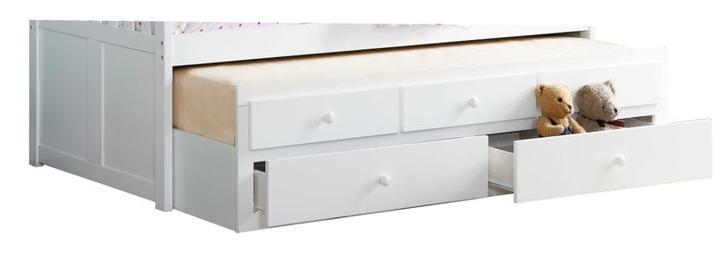 Homelegance Galen Storage Boxes in White B2053W-T image