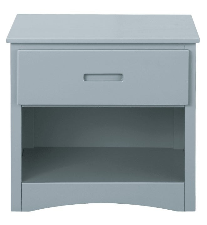 Homelegance Orion 1 Drawer Night Stand in Gray B2063-4 image