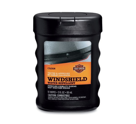 Windshield Water Repellant Treatment Wipes