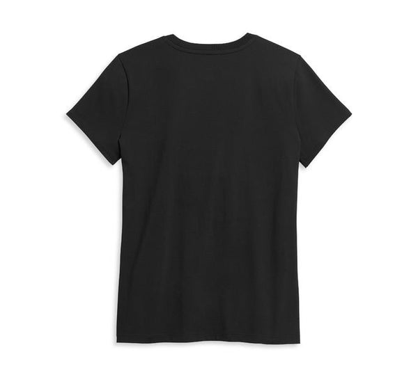 Women's Kick Start My Heart Black Tee