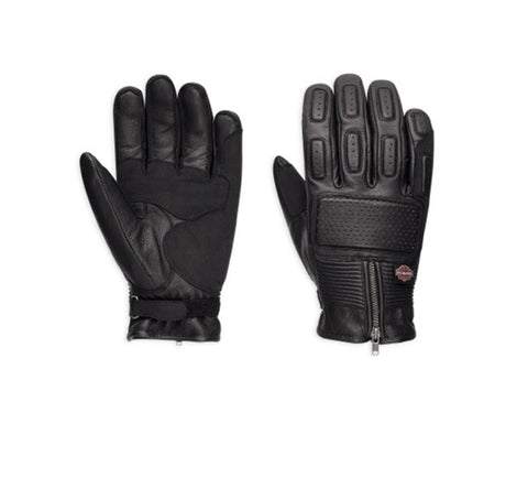 Harley-Davidson Miler Leather Gloves