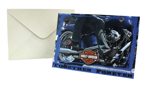 Harley-Davidson Together Forever - Anniversary Card