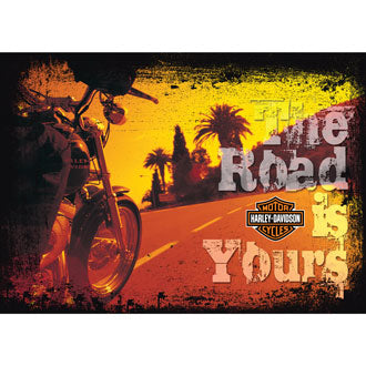 Harley-Davidson The Road Is Your - Retirement Card