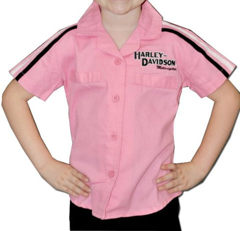 Girls Youth Prestige Woven Pit Crew