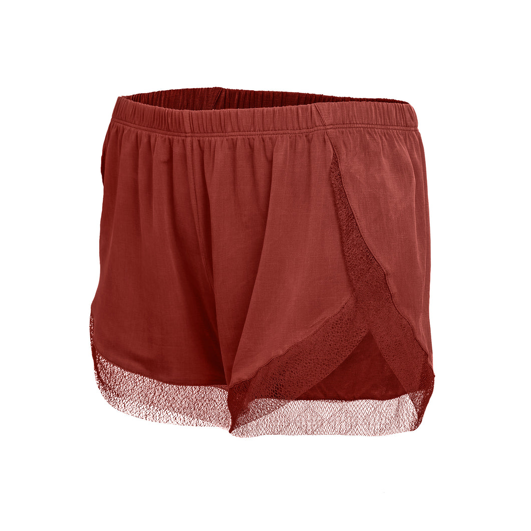 Cupro Lounge Shorts