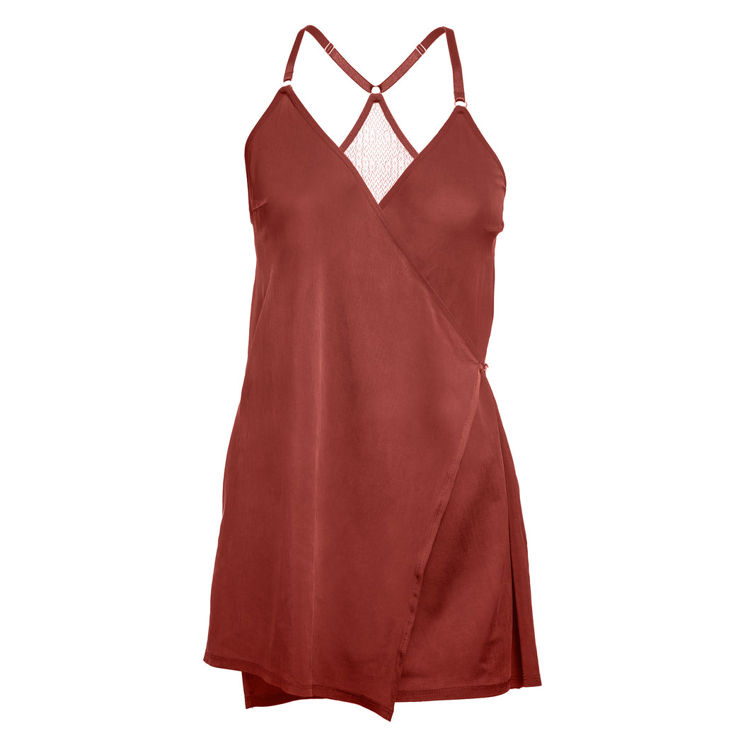 Cupro Slip Dress