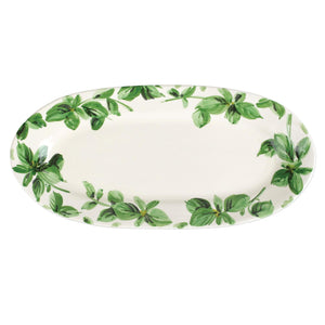 Erbe Basil Narrow Oval Platter