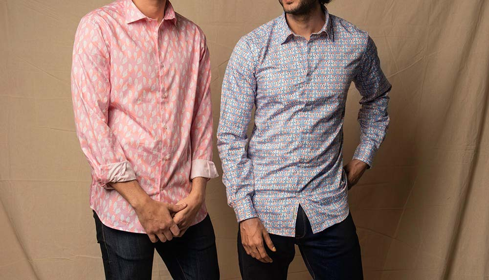 Bombay Shirt Company Lucky Charm Limited Edition Shirt Collaboration with Safomasi