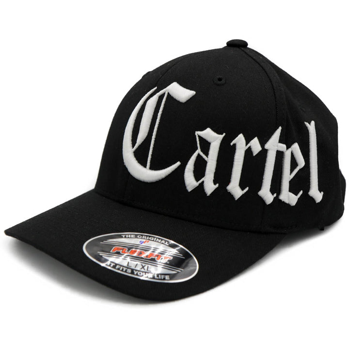 Black_Fitted_Hat_White_Cartel