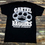 Cartel_Baggers_Black_Mens_Tee_BrassKnuckles_Back