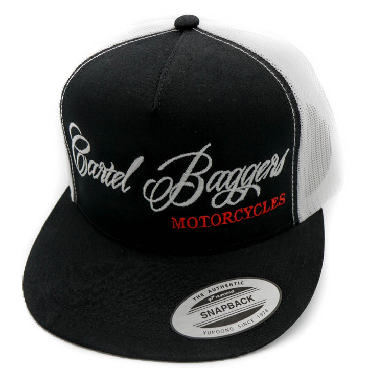 Black_White_SnapBack_Hat_With_CartelBaggersMotorcycle