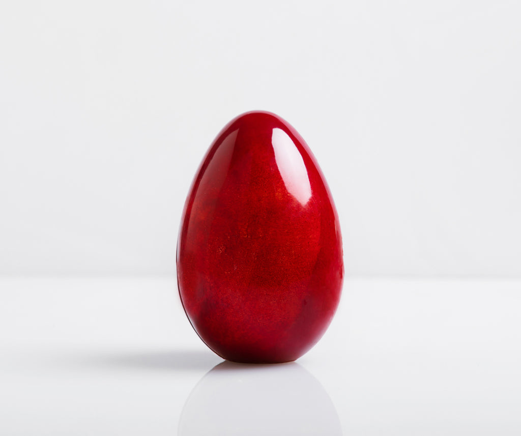 Chocolate Designer Easter Egg - RED