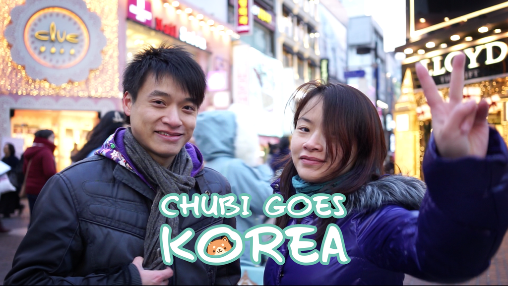 Chubi goes Korea!