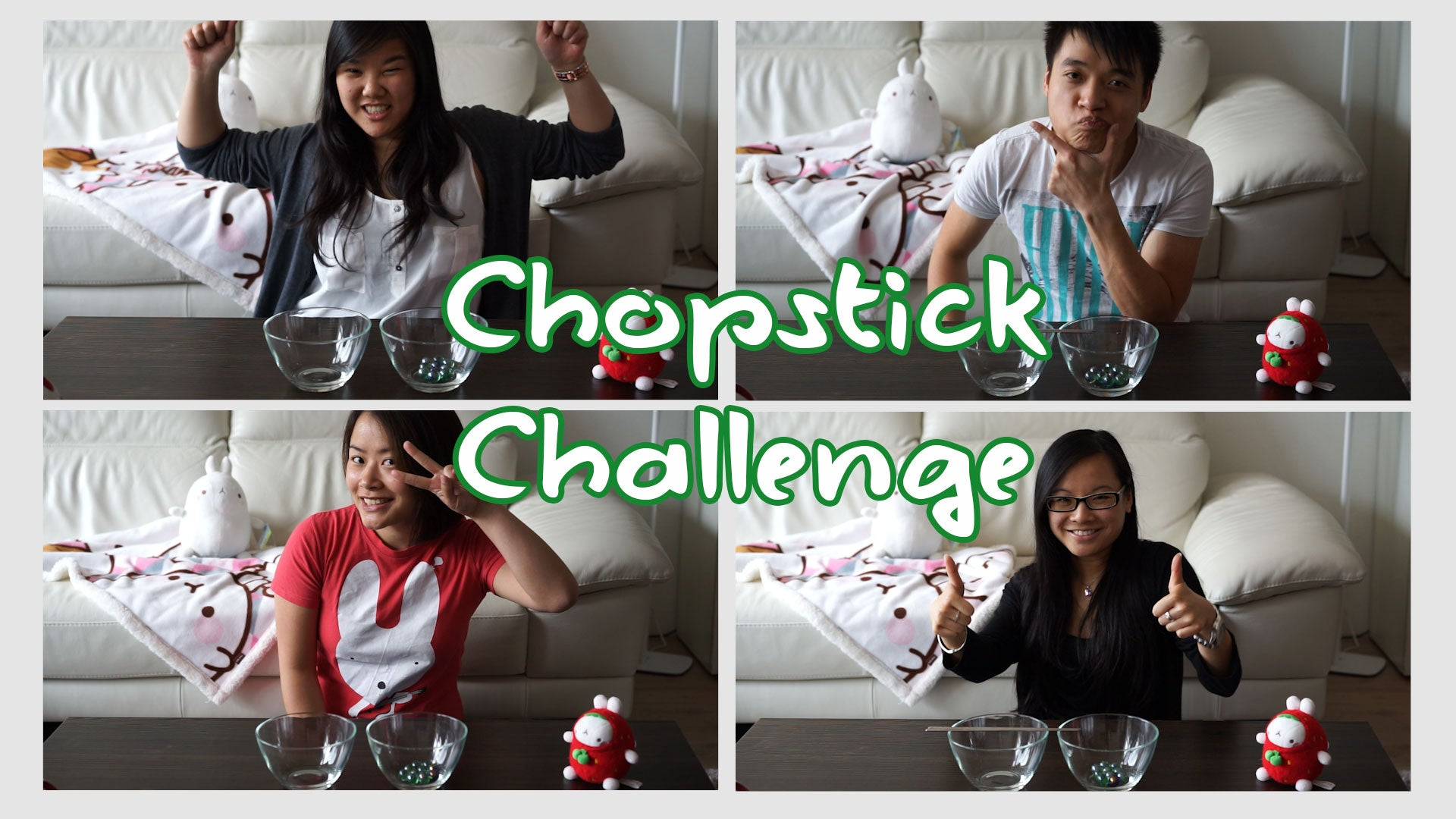 Chubi After 5: Chopstick Challenge
