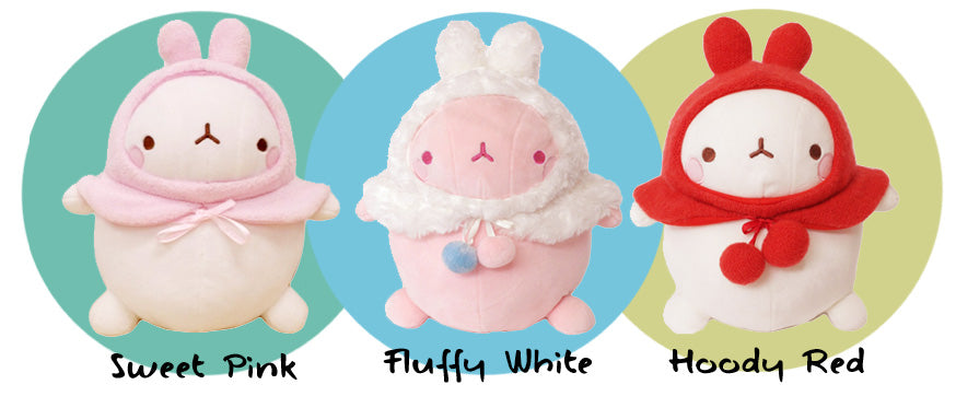 prototype molang knuffel