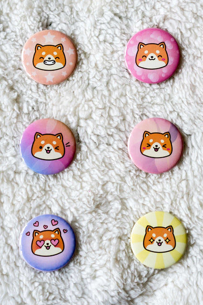 Chubi Happy Buttons