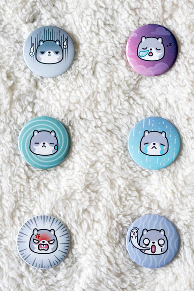 Pompi Moody Buttons