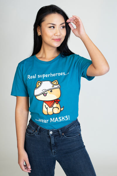 Superhero Mask T-Shirt