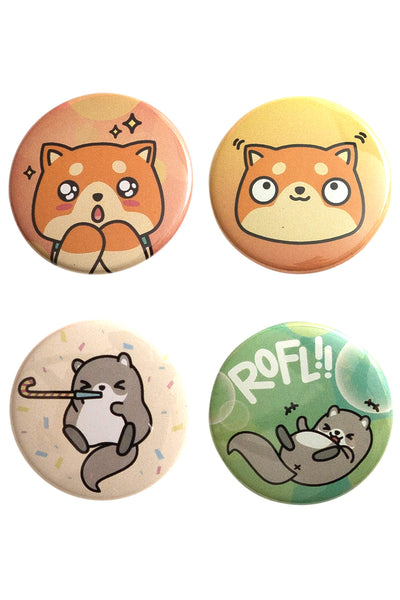 Chubi Excited Buttons