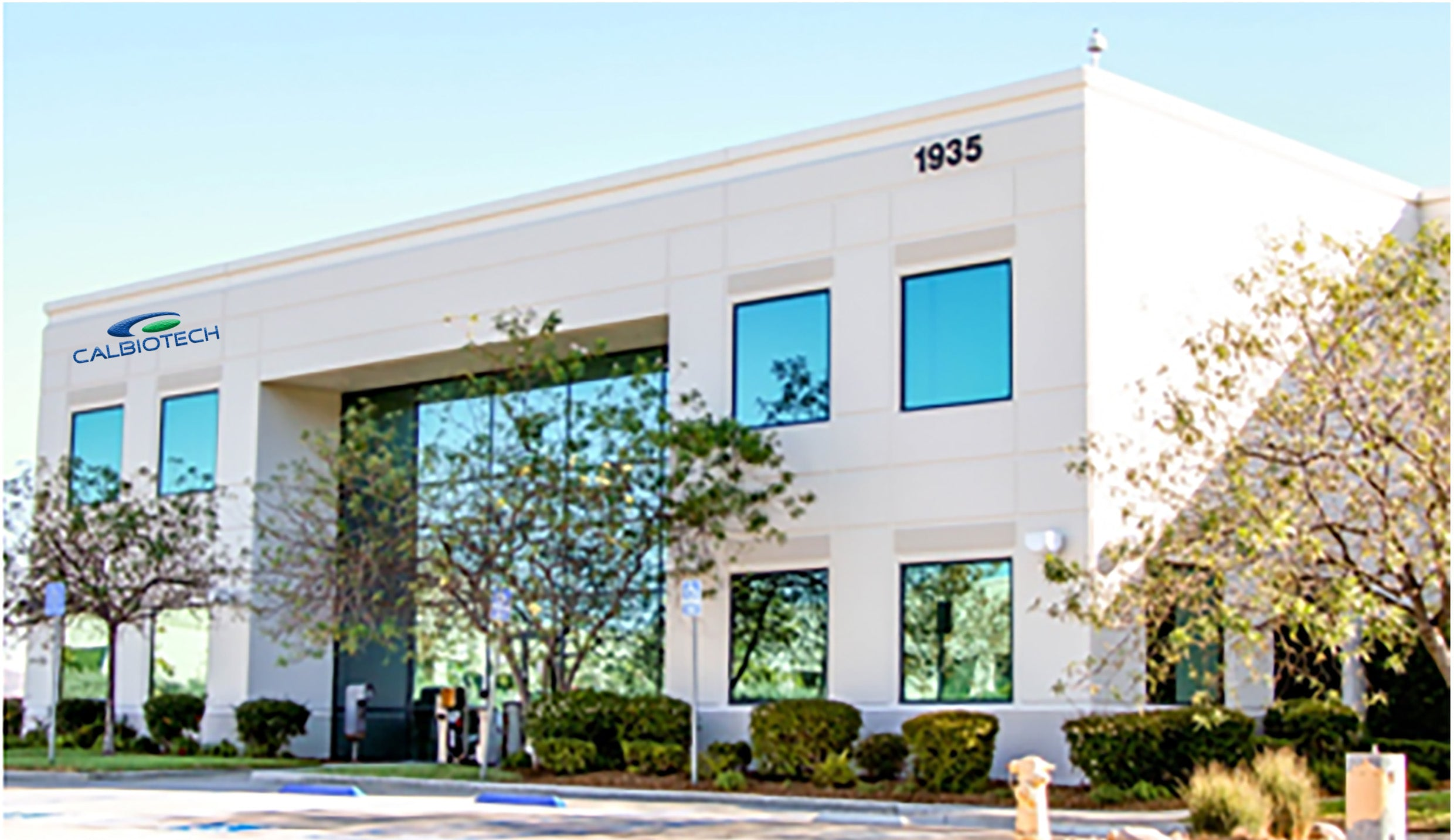 Calbiotech new facility