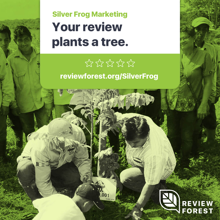 Your Review Plants a Tree