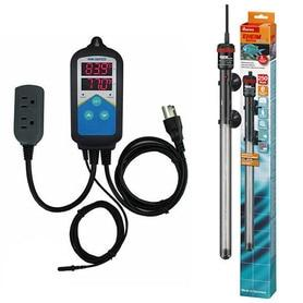 Thermocontrol-E Dual Thermostat (250 Watt) Aquarium Heater Kit - EHEIM Inkbird
