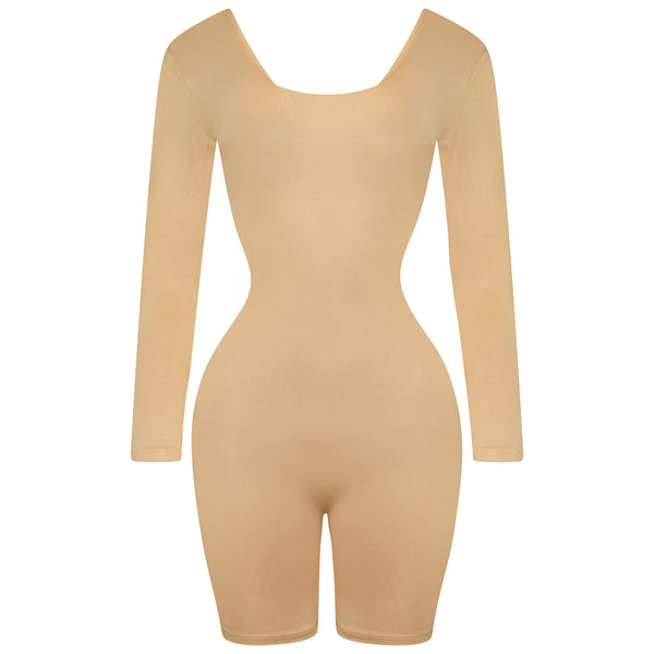 Nude Double Up Playsuit
