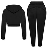 Structured Black Tracksuit