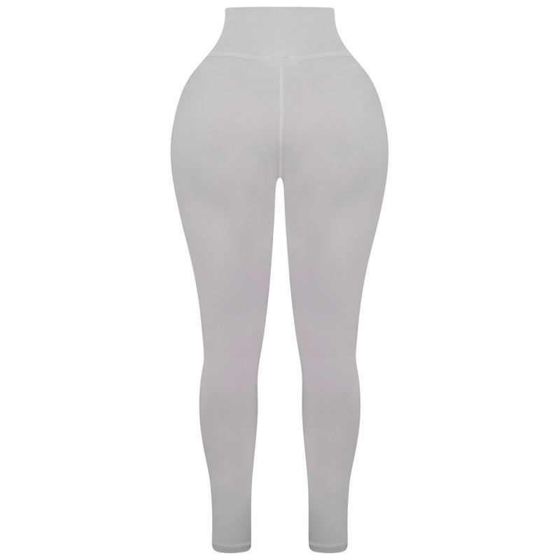 Sculpted Grey High Waisted Leggings