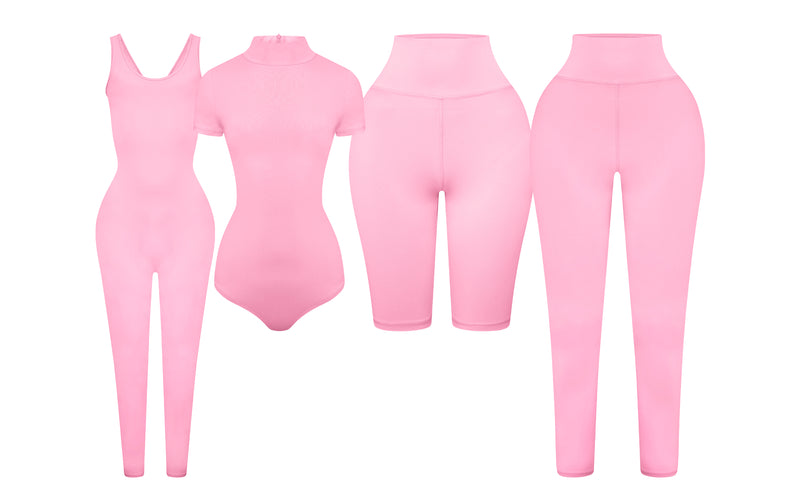 Pink Sculpted Everyday Full Pack - Set