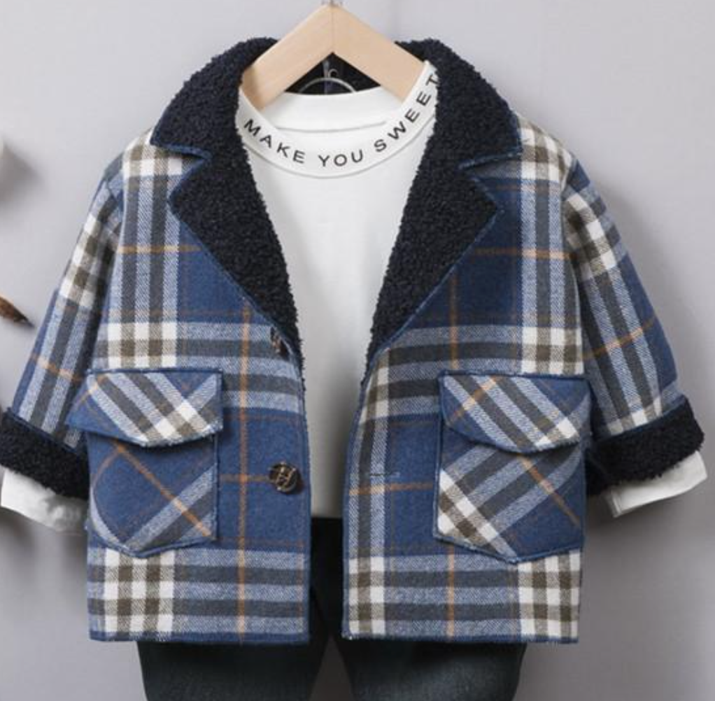 SM Plaid Jacket