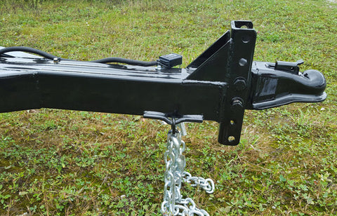 Extended Hitch with Adjustable Coupler