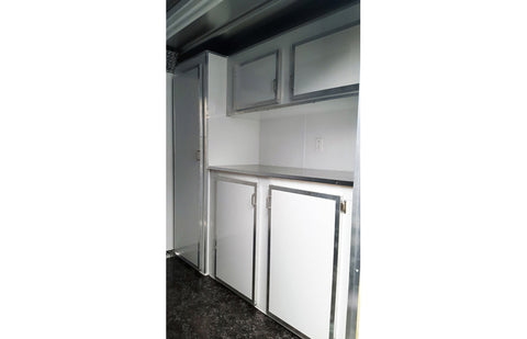 Cabinets with Closet