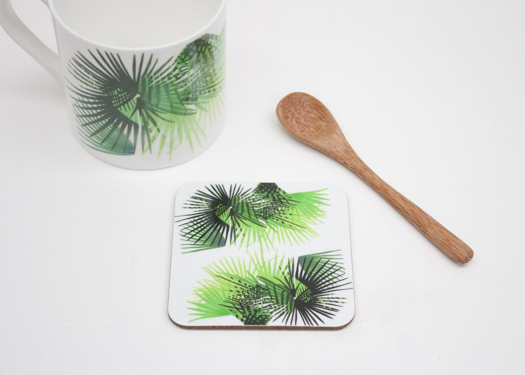 Cabbage Leaf Coaster