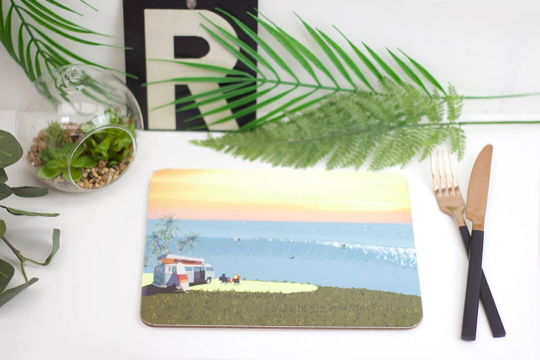 Weekend Explorer - Surf Placemat