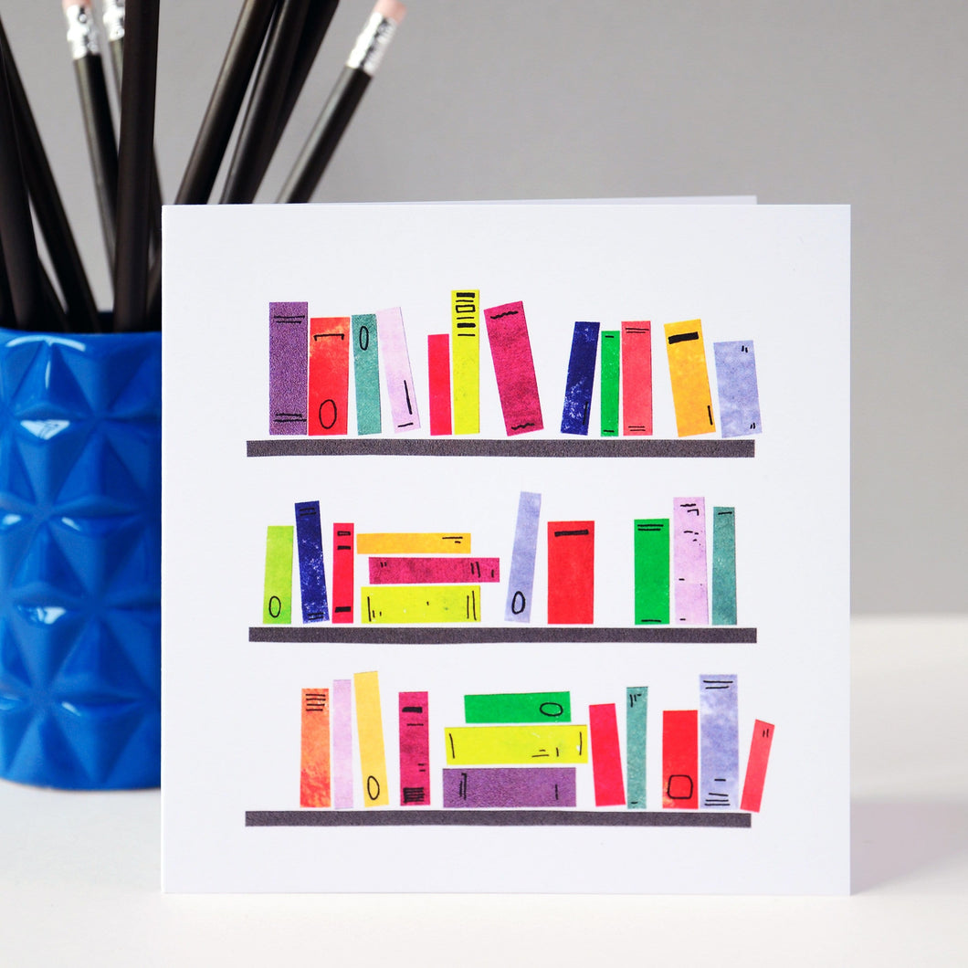 Bookshelves Card