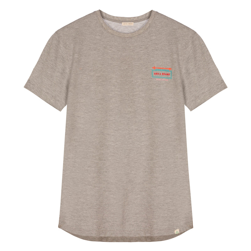 La Habana Tee Marbled Grey