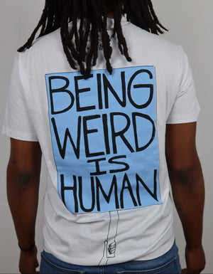 Being Human is Weird tee