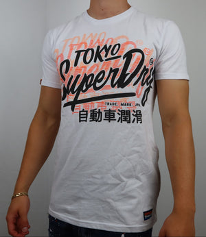 Orange shadows Super dry tee
