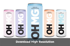 OHMG Magnesium Water Range functional water mindfullness relaxation