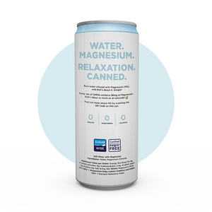 OHMG Water Plain Can relaxtion mindfullness functional vitamin sugarwise