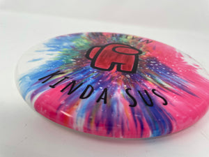 Among Us Disc Golf Disc Dye
