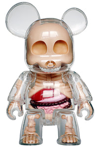 Toy2R Qee Visible Bear Jason Freeny - Urso Qee transparente