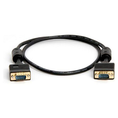 SVGA Super VGA M/M Monitor Cable w/ ferrites (Gold Plated) - 3FT