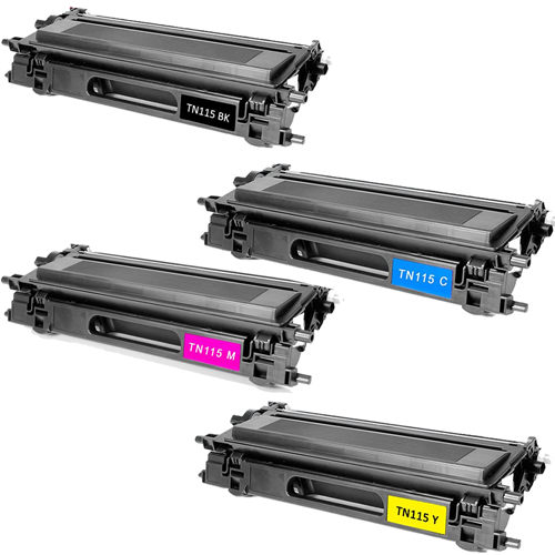Compatible  Brother TN115 Toner Cartridge Color Set
