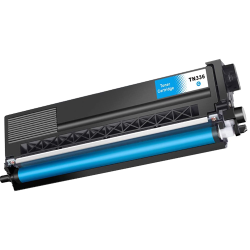 Compatible Brother TN336C Toner Cartridge - Cyan