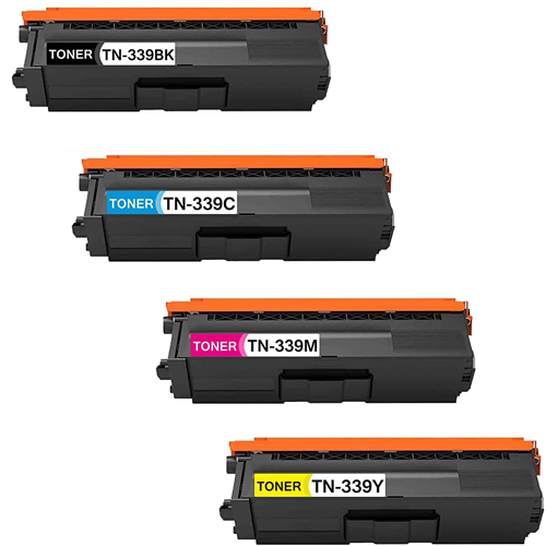 Compatible  Brother TN339 Toner Cartridge Color Set