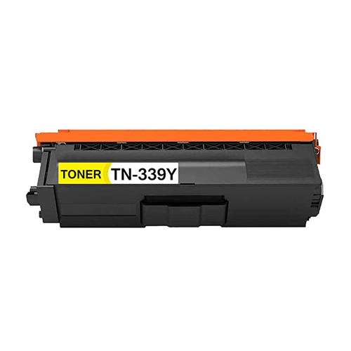 Compatible Brother TN339Y Toner Cartridge - Yellow