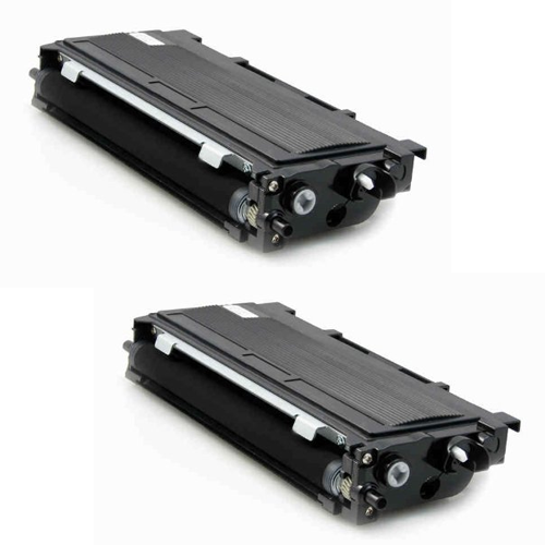 Compatible Brother TN350 Toner Cartridge - 2 Pack