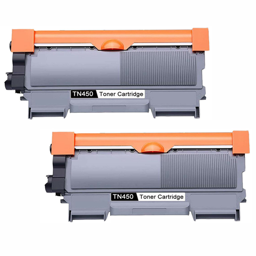 TN450 Toner Cartridge - Black - 2 Pack